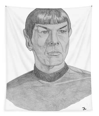 Mr. Spock Tapestry
