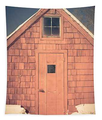 Mt. Cube Sugar Shack Orford New Hampshire Tapestry