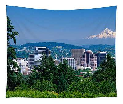 Mt Hood Portland Oregon Usa Tapestry