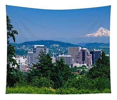 Mount Hood Photographs Wall Tapestries