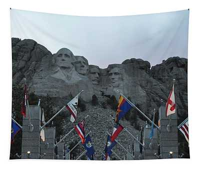 Mt. Rushmore In The Evening Tapestry