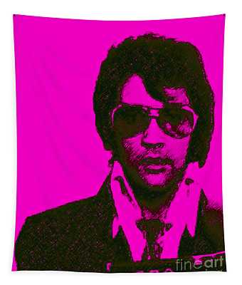 Mugshot Elvis Presley M80 Tapestry