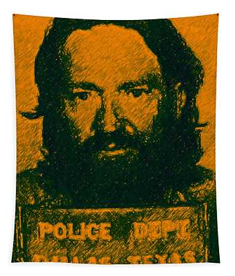 Mugshot Willie Nelson P0 Tapestry