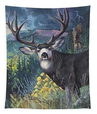 Mulie Storm Tapestry