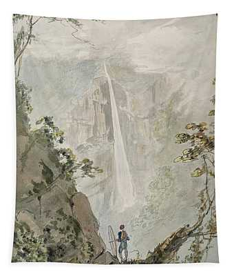 Murichom To Choka, 1783 Wc With Pen & Ink Over Graphite On Paper Tapestry
