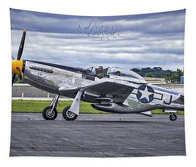 Mustang P51 Tapestry