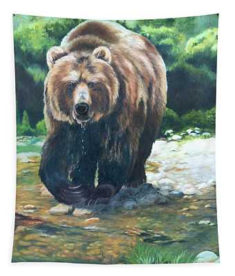 My Bear Of A Painting Tapestry