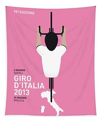 My Giro D'italia Minimal Poster Tapestry