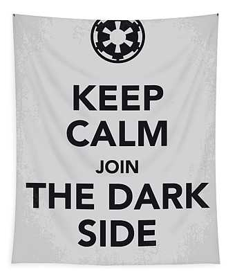 My Keep Calm Star Wars - Galactic Empire-poster Tapestry