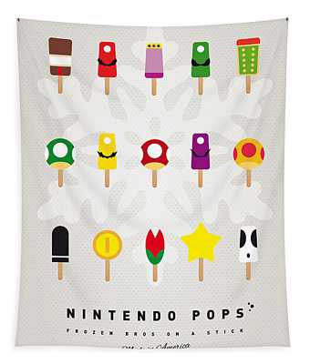 My Mario Ice Pop - Univers Tapestry
