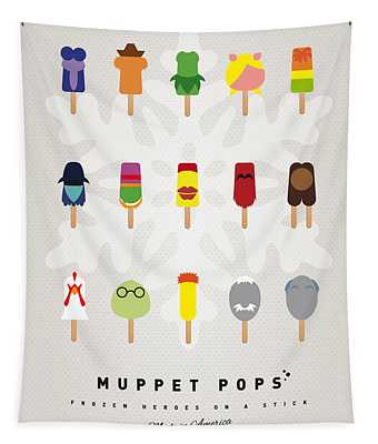 My Muppet Ice Pop - Univers Tapestry