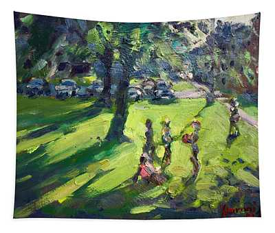 Yard Paintings Wall Tapestries