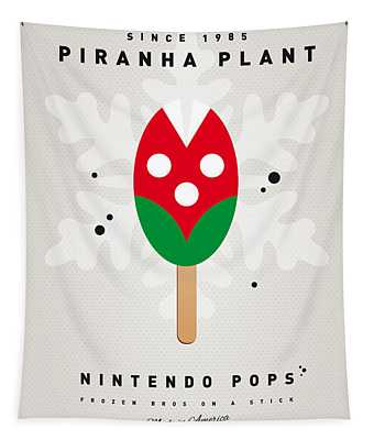 My Nintendo Ice Pop - Piranha Plant Tapestry
