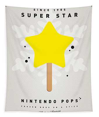 My Nintendo Ice Pop - Super Star Tapestry