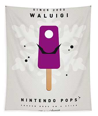 My Nintendo Ice Pop - Waluigi Tapestry