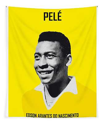 My Pele Soccer Legend Poster Tapestry