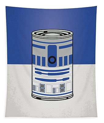 My Star Warhols R2d2 Minimal Can Poster Tapestry