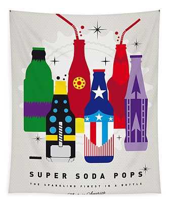 My Super Soda Pops No-27 Tapestry