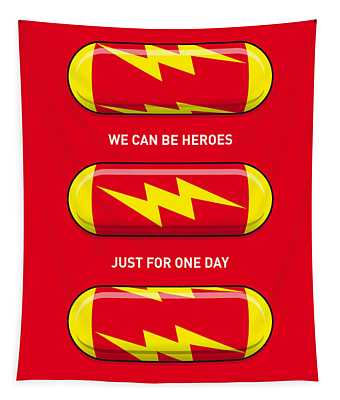 My Superhero Pills - The Flash Tapestry
