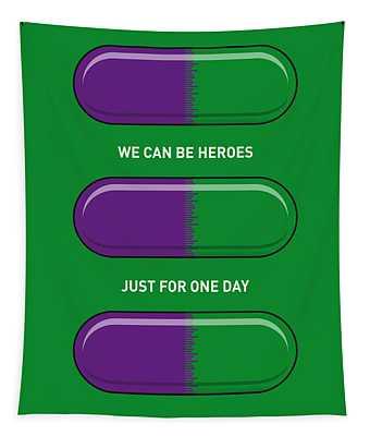 My Superhero Pills - The Hulk Tapestry