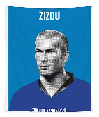 My Zidane Soccer Legend Poster Tapestry
