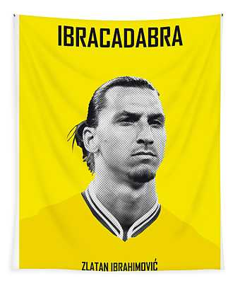 My Zlatan Soccer Legend Poster Tapestry