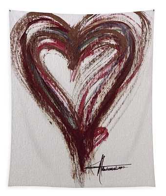 Myeloma Awareness Heart Tapestry