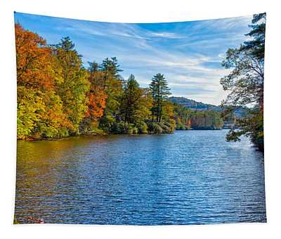 Myriad Colors Of Nature Tapestry