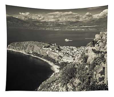 Nafplio Peninsula Sepia Tapestry