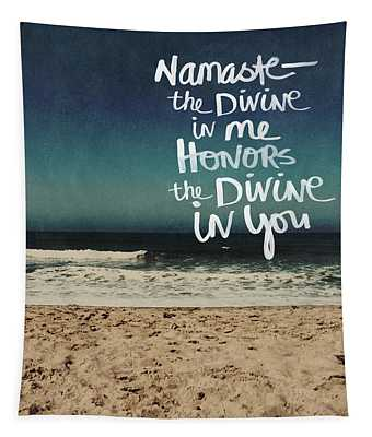 Namaste Waves  Tapestry