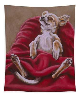 Nap Hard Tapestry