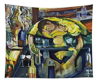 Narcisisstic Wine Bar Experience - After Caravaggio Tapestry