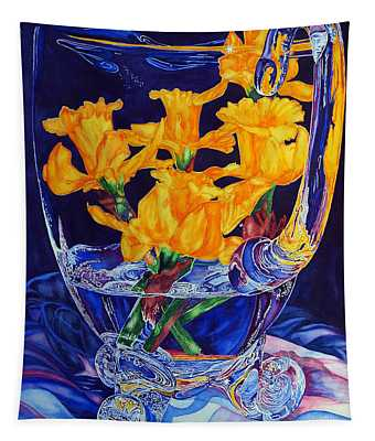 Narcisses Dans Un Vase From Master Class Tapestry