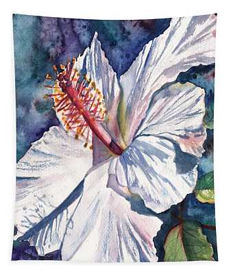 Native Hawaiian Hibiscus Tapestry