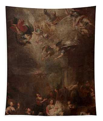 Nativity Of Mary Tapestry