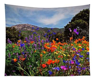 Nature's Bouquet  Tapestry