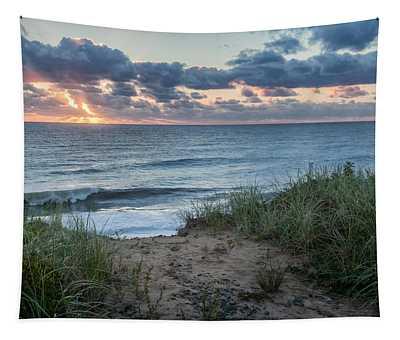 Nauset Light Beach Sunrise Tapestry