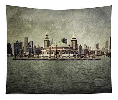 Navy Pier Tapestry