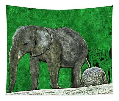 Nelly The Elephant Tapestry