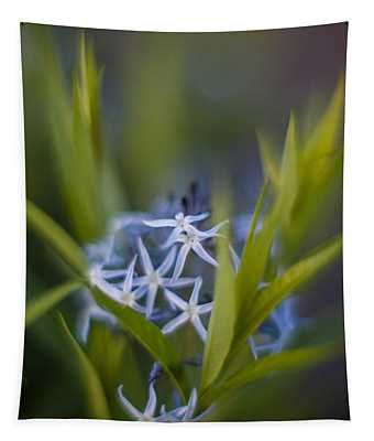 Nest Of Blue Stars Tapestry