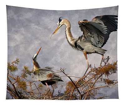 Nesting Time Tapestry