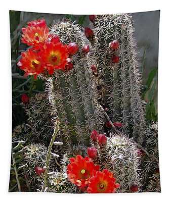 New Mexico Cactus Tapestry