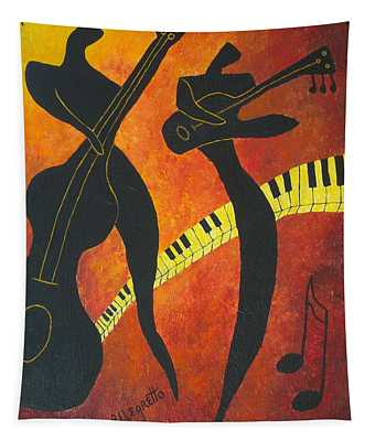New Orleans Jazz Tapestry