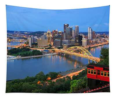 Pittsburgh Summer  Tapestry