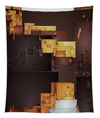 New Pueblo 1 Tapestry