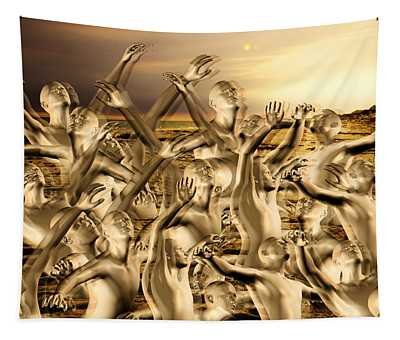 New World Surrender Tapestry
