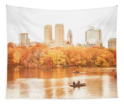 New York City - Autumn - Central Park Tapestry