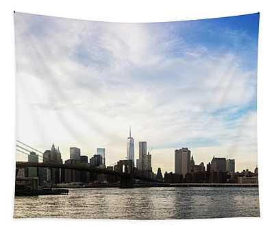 New York City Bridges Tapestry