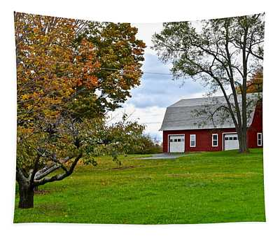 New York Farm Tapestry