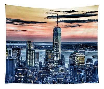 New York - Manhattan Landscape Tapestry